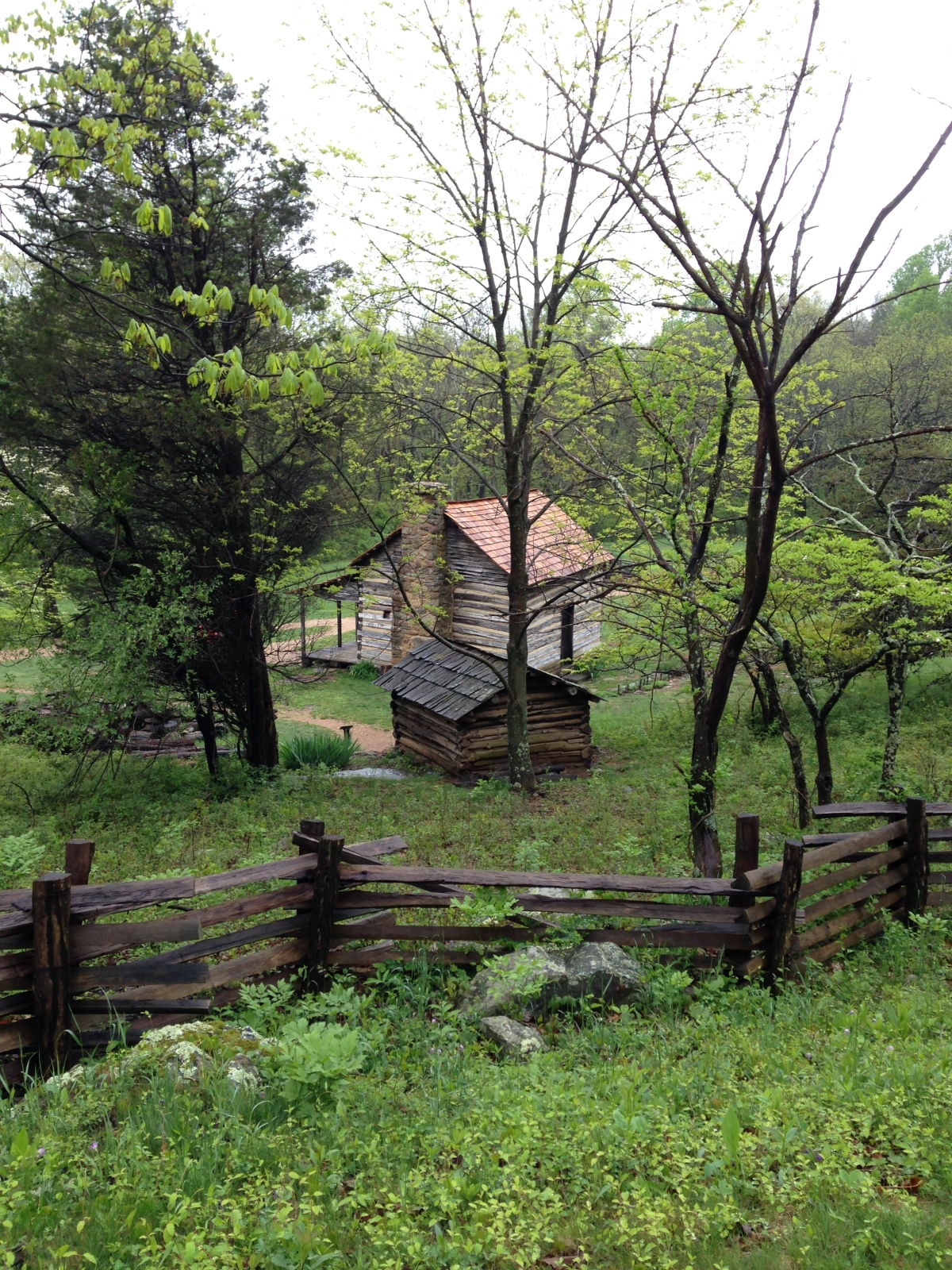 In the Blue Ridge Mountains of Virginia, On the Trail of the LonesomePine